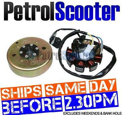 Stator Magneto Flywheel 50cc Pulse Scout Speedy 50 Chinese 50cc Scooters