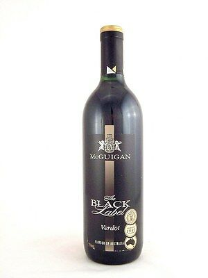 2002 McGUIGAN BROTHERS The Black Label Petit Verdot Isle of Wine