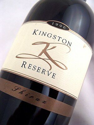 1996 KINGSTON ESTATE Wines Reserve Shiraz B Isle of Wine