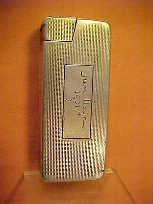 Rare Sterling Silver Dunhill Rollboy Lighter – Early B&C Version 1940s