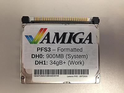 "Amiga 600 / 1200 2.5"" 40gb Hard Drive (PFS3 Formatted)"