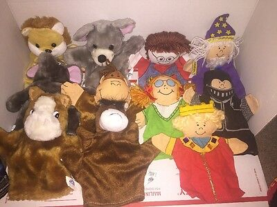 11 Hand  Puppets Oriental Trading Co. Inc