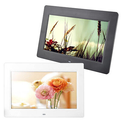 10.1In Android 4.4 WIFI HD Digital Photo Frame Alarm Video Player + Remote BS