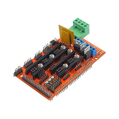 3D Printer Controller Board Module For Ramps 1.4 Reprap Prusa Mebdel New BS