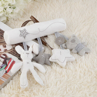 Bed Bells Kids Baby Soft Toy Animal Musical Toy Stroller Cute Ornaments BS