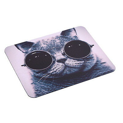 Cat Picture Anti-Slip Laptop PC Mice Pad Mat Mousepad For Optical Laser Mouse BS
