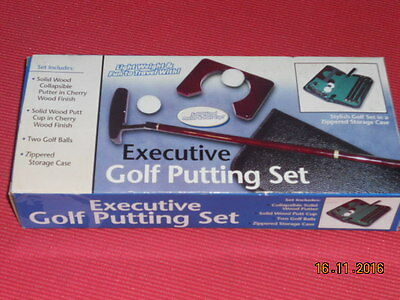 Golf Putting Set in Case and Box