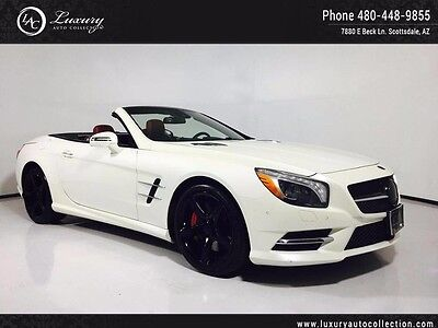 2015 Mercedes-Benz SL-Class Base Convertible 2-Door PORT PACKAGE_ADAPTIVE SUSPENSION_SOFT CLOSE_DRIVER ASSITANCE_WARRANTY