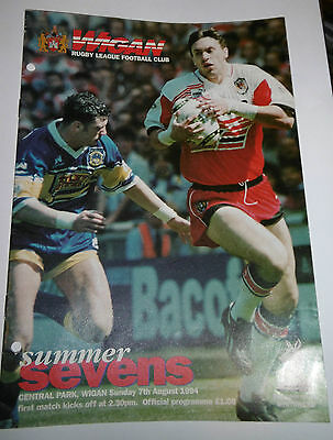 Wigan Summer Sevens 7 A Side Competition 7th August 1994 @ Central Park, Wigan