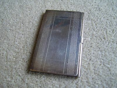 Vintage metal Golf Score Card holder, Tiffany & Co .925 Silver