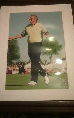 Colin montgomerie hand signed photo
