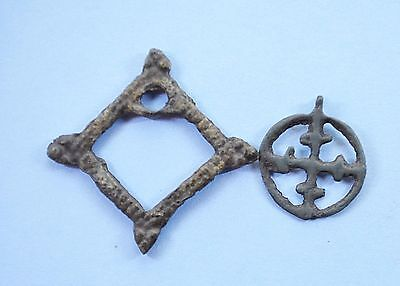 Medieval Viking Period Christianity Pendants lot
