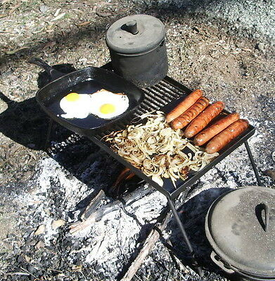 Campfire Cooking small Bush BBQ and Grill by campfirecooking