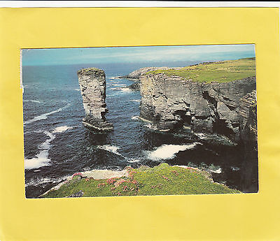 The  Stack Of Yesnaby  Orkney     ,  Scotland  (  K41  )