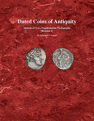 Dated Coins of Antiquity Supplement 2014 - Edward Cohen 1 - PDF eBOOK on CD