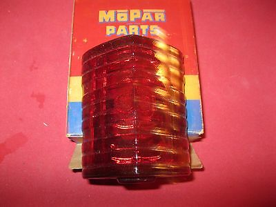 NOS Mopar 1941-48 Chrysler taillight lens