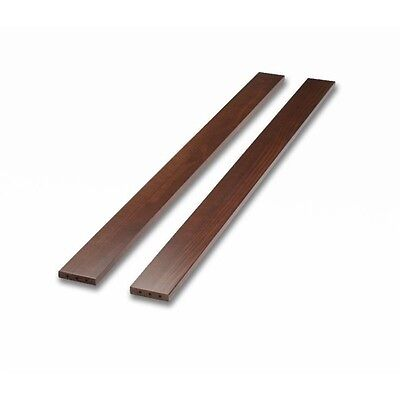 Sorelle Adult Full-Size Bed Conversion Rails-Cherry