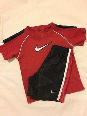 Nike Toddle Shorts And Top Set
