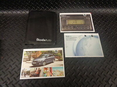 2008 Skoda Fabia 1.4 Tdi Pd 5Dr Estate Owners Manual Handbook With Wallet