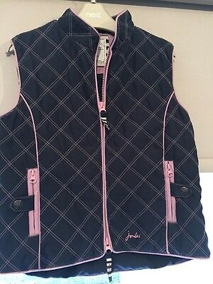 Girls Joules Out Door Body Warmer Age 8-9