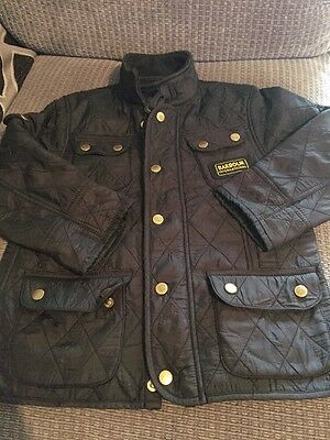 Barbour Jacket Age 4/5 Years Small