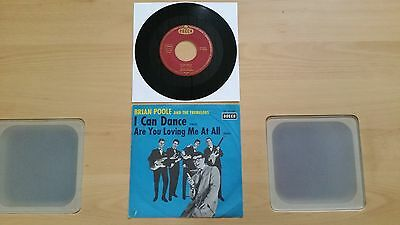 """""""7"""" BRIAN POOLE AND THE TREMELOES - I CAN DANCE / Decca DL 25124 GER. 1963"""