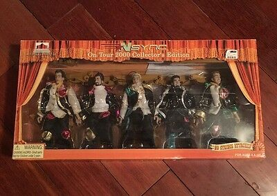 Nsync On Tour 2000 Collector's Edition No Strings Attached Action Figures Bnib!!