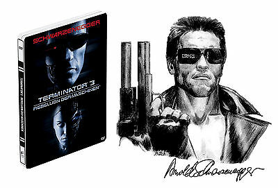 Terminator 3 Rise Of The Machines - Limited Edition Steelbook DvD Region 2