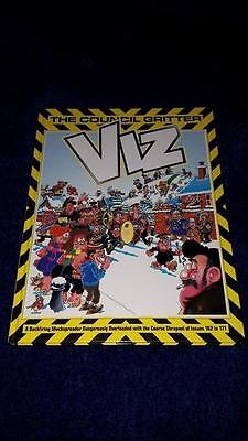 Viz The Council Gritter Issues 162-171 Adult Comic Annual
