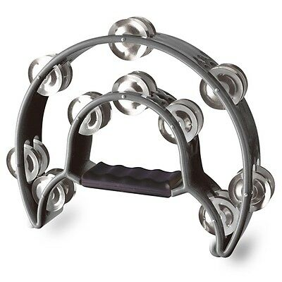 A-Star Double Tambourine - Black