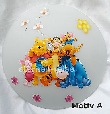 Wall Lamp Winnie The Pooh WWP 8 light with Name available Ceiling