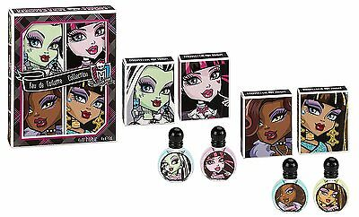 Monster High Eau De Toilette Collection 4 X 7 Ml