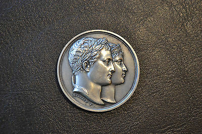 Commemorative Medal for the Marriage of Napoleon and Marie-Louise, April 1, 1810