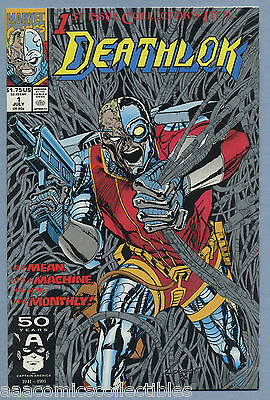 Deathlok #1 1991 Dwayne McDuffie Gregory Wright Denys Cowan Mike Manley Marvel