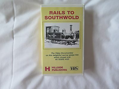 Rails To Southwold. Video Documentary on VHS Cassette. 1990