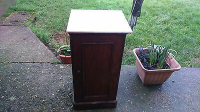 Antique/Vintage  Marble Top Pot Cupboard..Last time Listed as space needed