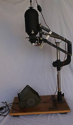 Pelcomat Photographic Enlarger Vintage Photography Equipment 1m Tall Large