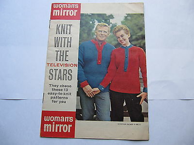 Womans Mirror Knitting Pattern - Knit With the Stars