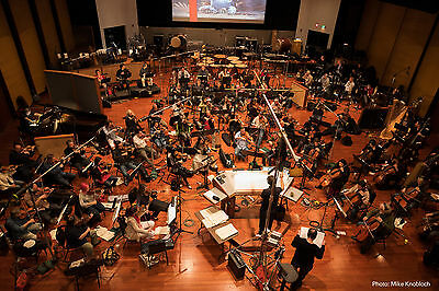 MC Universal Film Music Scoring Session Visit With Composer