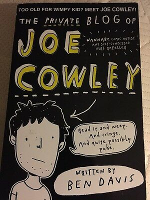 The Private Blog of Joe Cowley by Ben Davis (Paperback, 2014)