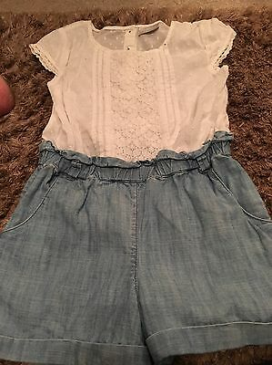 Next Girls Play Suit 6 Yrs