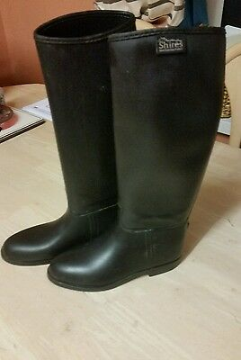 Shires Long Riding Boots Size 35