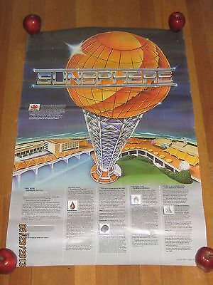 1982 Knoxville World's Fair Sunsphere Poster