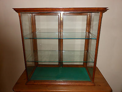 Early Shop Counter Display Cabinet.