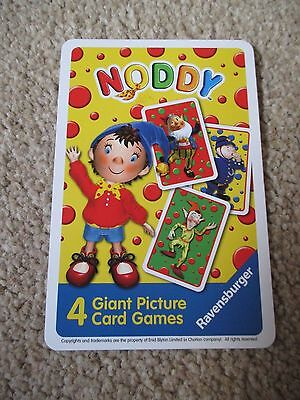 Noddy - 4 Giant Picture Card Games