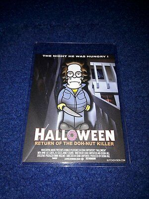Butchovision Michael Myers Halloween Card