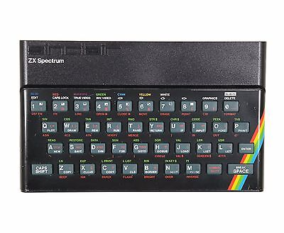 Fully Refurbished Rubber Key Sinclair ZX Spectrum 48K with 1 Year Warranty