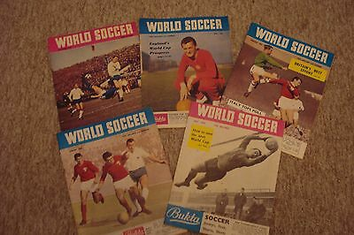 5 Different Issues Of World Soccer 1964-69