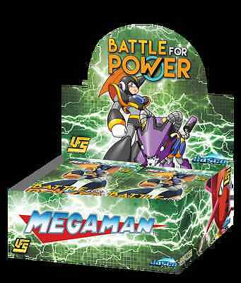 UFS Mega Man Battle For Power SEALED Booster Box - Free Shipping