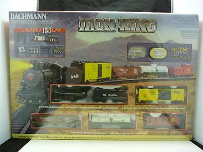 Bachmann Iron King Complete & Ready to Run HO Scale Electric Train Set NIB
